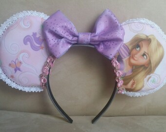Handmade Rapunzel/Tangled Mouse Ears