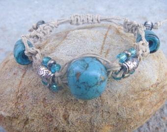 Indian Drum Tourquoise Bracelet
