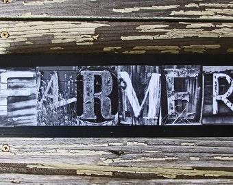 Farmer, farmer gift, grow, soil, land gift, farmer field gift, gift for a farmer