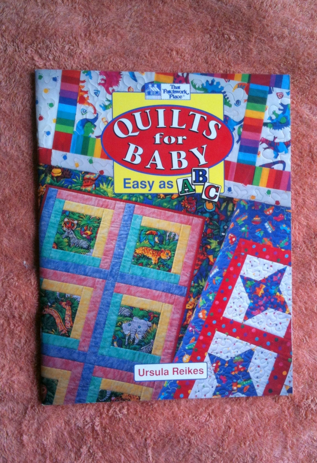 Quilts for baby baby quilt book that patchwork place ursula for Patchwork quilt book