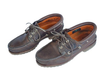 Vintage Timberland ® men shous brown genuine leather