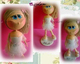dancing girl doll