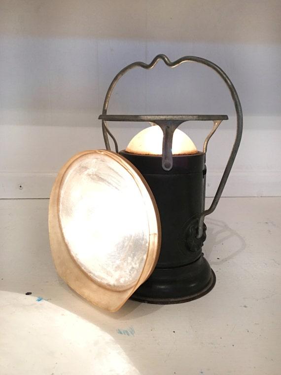 Vintage Delta Powerlite Lantern 1930 Sdelta Steampunk 6v