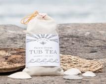 Pacific Ocean Tub Tea - No Mess Seaweed Bath Soak - Sea Salt - Kelp - Essential Oils