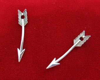 "BULK! 30pc ""arrow"" charms in antique style silver (BC370B)"