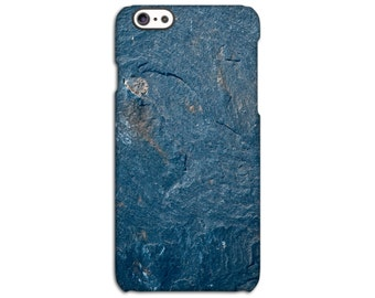 Blue Slate Stone iPhone Case