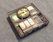 Elder Sign board game, wood insert to store all components, storage solution
