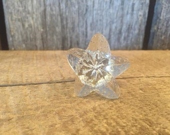 Glass Starfish Knobs Bathroom Knobs Dresser Knobs Cabinet Knobs Kitchen Knobs Drawer Pulls Drawer Knobs Cabinet Pulls Dresser Pulls