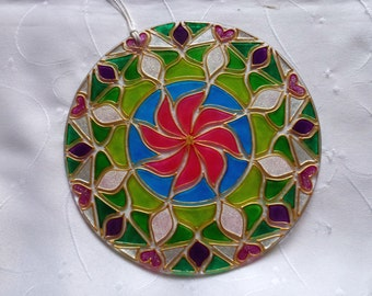 Glass Mandala – Playfullness