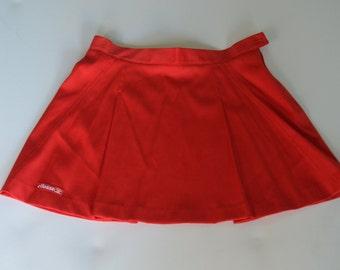 90s/Vintage Red Tennis Skirt
