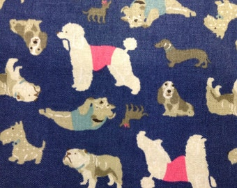 One Half Yard of Fabric - A Dogs Life