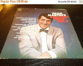 Save 70% Today Vintage 1968 Vinyl LP Record Dean Martin Greatest Hits Volume One Very Good Condition 016