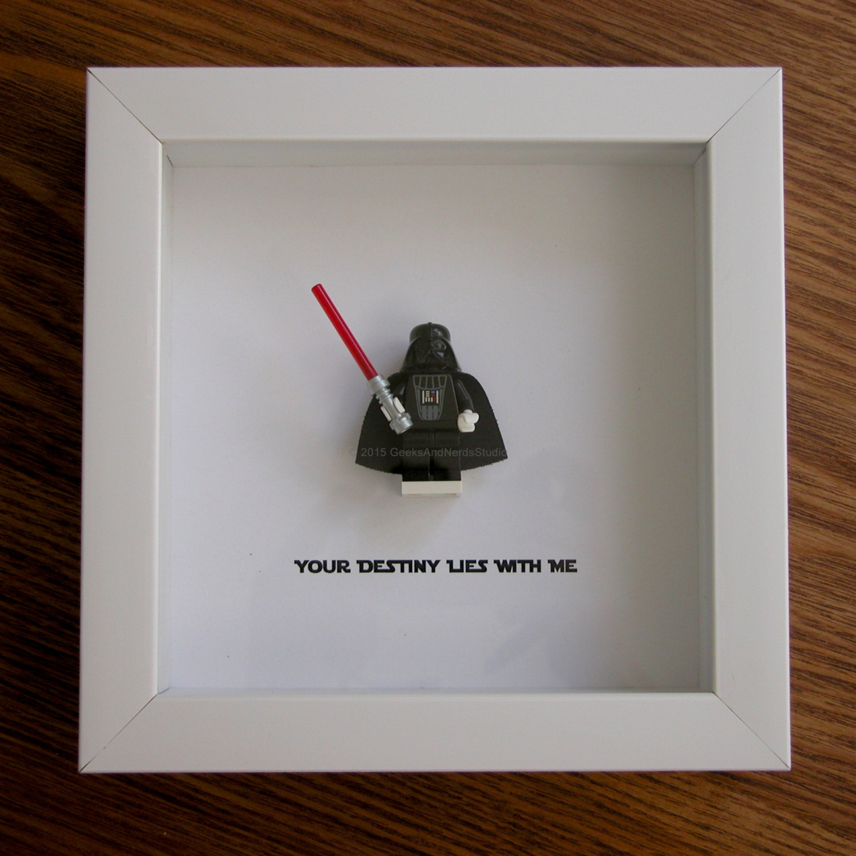 LEGO Star Wars Art Frame Darth Vader LEGo Christmas