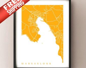 Marsaxlokk Art Print - Malta Poster - Ix-Xatt
