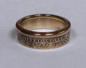 US Gold  Dollar   coin ring size  or pendant