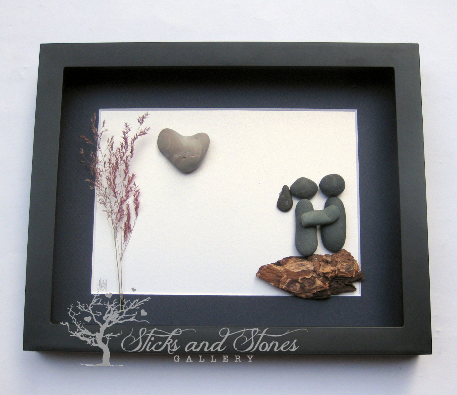 Couples Gift Ideas For Home: Personalized Gifts For Couple Pebble Art Gift Personalized