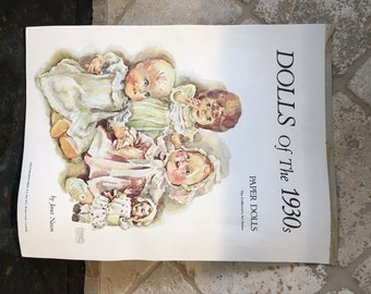Dolls Of The 1930s Paper Dolls Janet Nason 1976