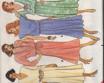 Vintage Butterick Pattern 3965  Misses Dress Size 14-16-18