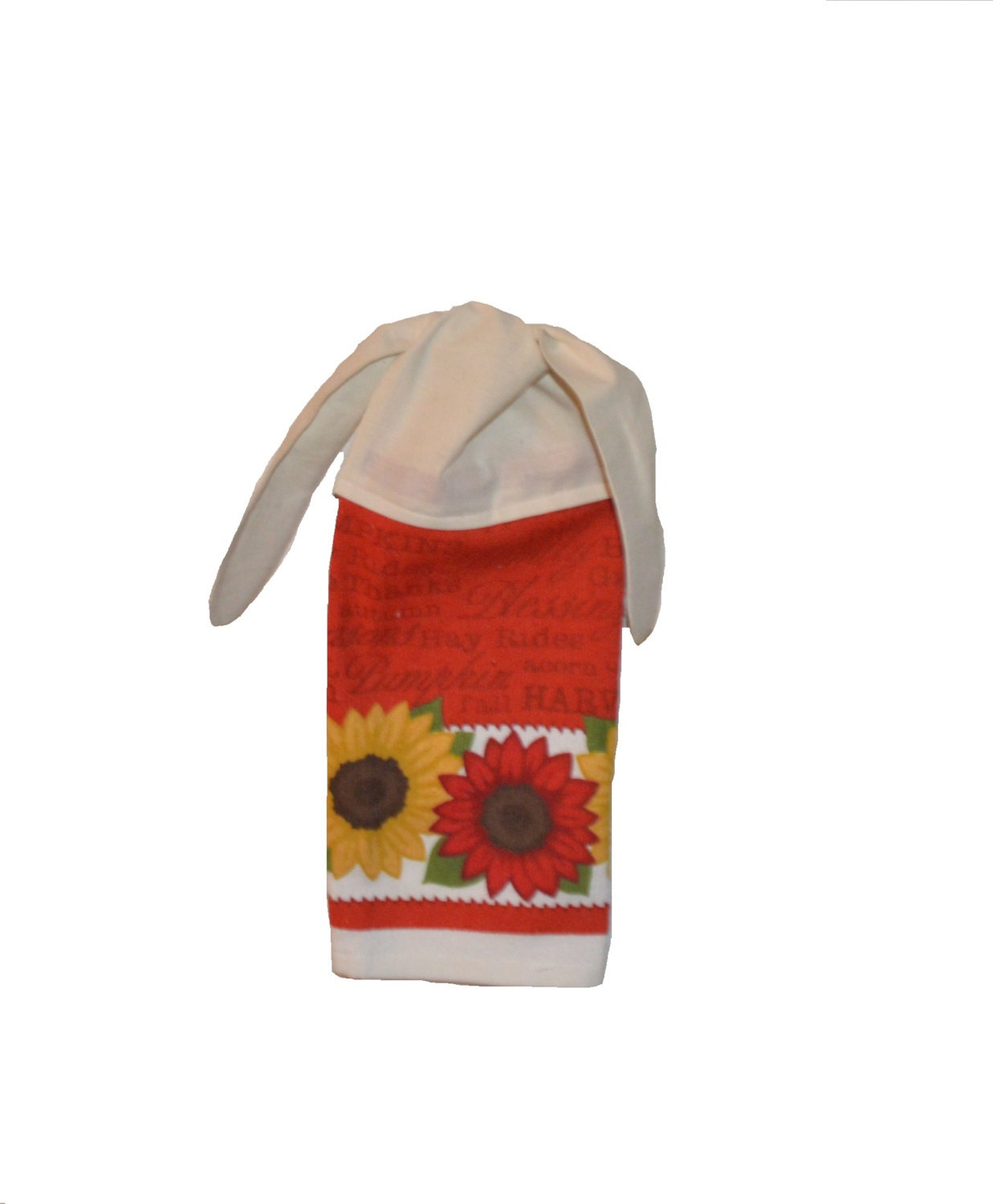 Red Kitchen Hand Towels: Red Sunflower Towel Kitchen Hand Towel Dish Towel By