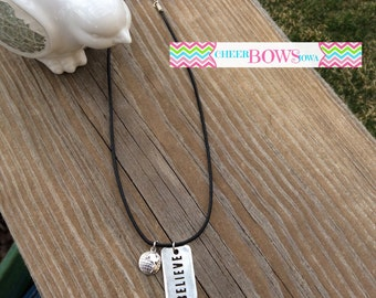 Believe in the World Necklace