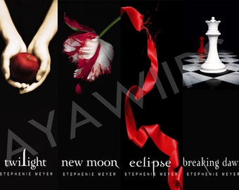 "Digital Download, Printable Bookmarks ""Twilight"""
