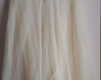 Vintage canary nightgown