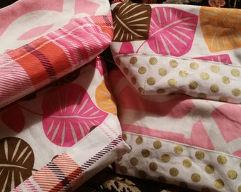 Small Open Wide Pouch Pink