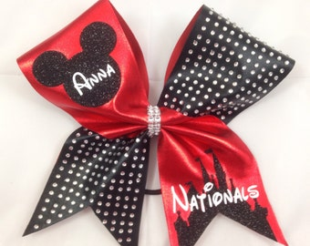 Customized Cheer bow- Nationals 2016
