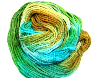 Worsted Weight - 100g - 183yds - Superfine Merino - 18 Microns - Hand Dyed