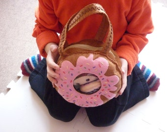 Donut Handbag/Gift bag/Favor bag/Purse