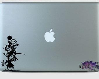 Lock - Shock - Barrel - Totem Pole - NBC - Disney - Tim Burton - Laptop - Macbook - Car Window - Vinyl - Decal - Sticker