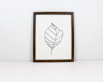 Solid Wood Espresso Finished Picture Frame