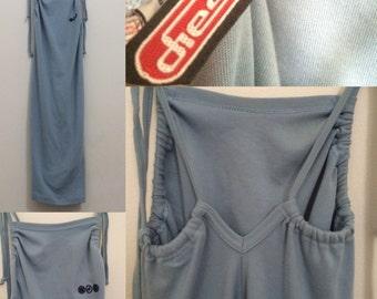 SALE- Baby Blue 90's Rave/club Summer dress by Diesel