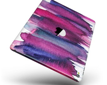 Violet Mixed Watercolor Full Body Skin Decal for the Apple iPad Pro, Air or Mini (All Models Available)