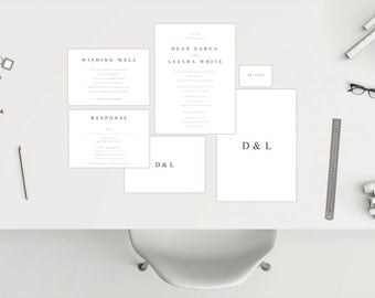 Wedding Package // Simplistic White