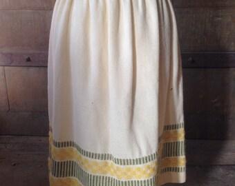 Vintage Sweater/Knit Skirt