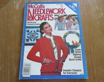McCall's Needlework & Crafts March/April 1982