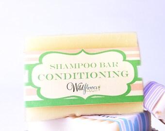Shampoo Bar - Conditioning Bar / Natural Shampoo