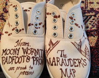 Marauders Map shoes