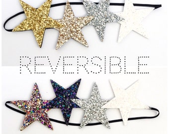 Adult Reveraible Star Crown// New Years