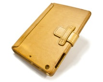 iPad PRO 9.7 leather case made by genuine italian leather as protection choose color