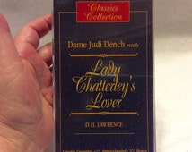 30% off sale Lady Chatterley's Lover on cassette read by Dame Judi Dench.