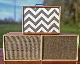 Wood Wireless Rechargeable Bluetooth Speaker     Portable Bluetooth Speaker