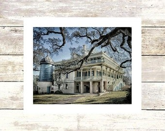PLANTATIONS - San Francisco Plantation Mississippi River Road  Fine Art Photograph-Limited edition of 250