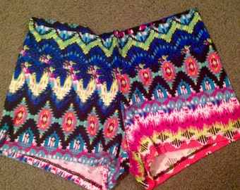 Booty Shorts  for fitness.  FREE SHIPPING Yoga, Running, Dance class. Super Cute and soft. OSFM