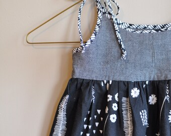 Boho Toddler Dress - Girls Floral Dress - Boho Baby Dress - Girls Summer Dress - Girls Boho Dress - Little Girls Dress - Boho Baby Style