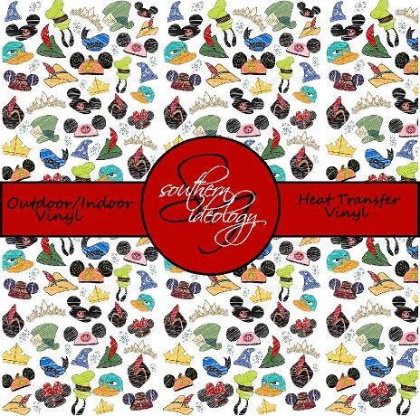 Disney Inspired Craft Vinyl And Heat Transfer Vinyl Pattern