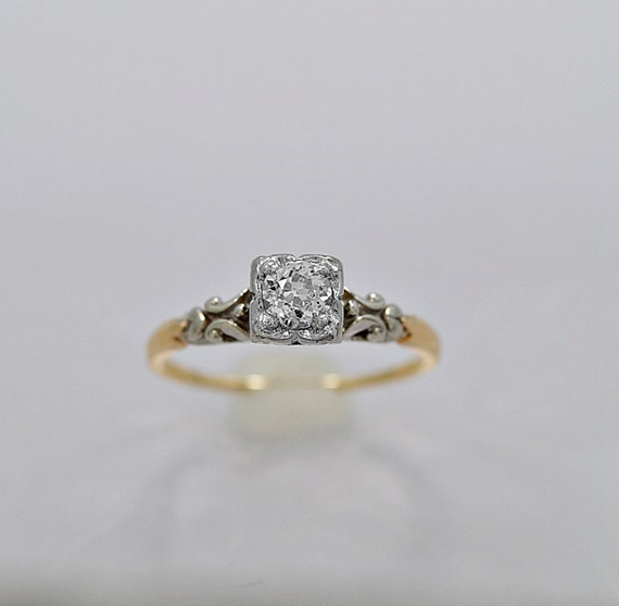 Antique Diamond Engagement Rings