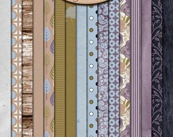 Scrapbooking Digital: Paper, Patterned, Textured, Efflorescence