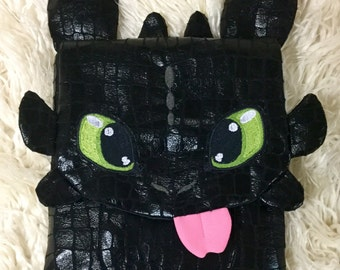 How to Train your Dragon Toothless Ipad cover or tablet case with tongue